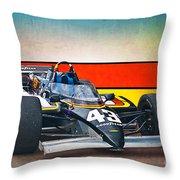 1983 Lola T700 Indy Car Throw Pillow