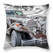 1984 Excalibur Throw Pillow