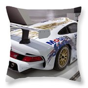 1996 Porsche 911 Gt1 Throw Pillow
