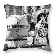 1996 Yankees Float Throw Pillow