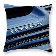 1997 Ferrari F 355 Spider Rear Emblem -153c Throw Pillow