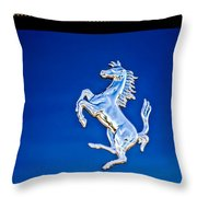 1997 Ferrari F 355 Spider Taillight Emblem -135c Throw Pillow