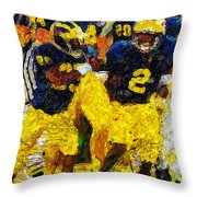 1997 What A Year Throw Pillow