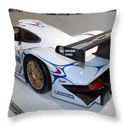 1998 Porsche 911 Gt1 Throw Pillow