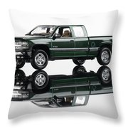1999 Chevy Silverado Truck Throw Pillow