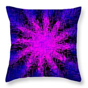#19a Throw Pillow by Tomasz Dziubinski