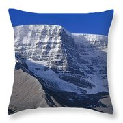 1m3732-v-snow Dome  Throw Pillow