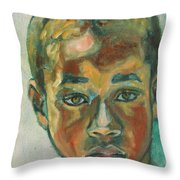 1st Day At School Throw Pillow