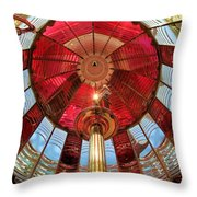 1st Order Fresnel Lens Throw Pillow