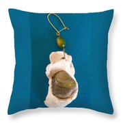 Aphrodite Earring Throw Pillow