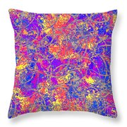 0147 Abstract Thought Throw Pillow