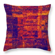 0171 Abstract Thought Throw Pillow