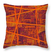 0191 Abstract Thought Throw Pillow