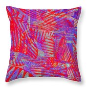0218 Abstract Thought Throw Pillow