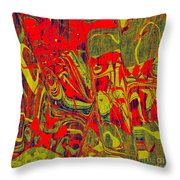 0477 Abstract Thought Throw Pillow