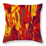 0656 Abstract Thought Throw Pillow
