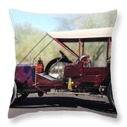 1907 Panhard Et Levassor Throw Pillow by Jill Reger
