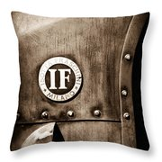 1913 Isotta Fraschini Tipo Im Emblem Throw Pillow