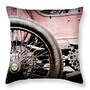 1913 Isotta Fraschini Tipo Im Wheel Throw Pillow