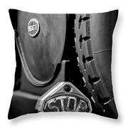 1920 Bugatti Type 13 Taillight Throw Pillow