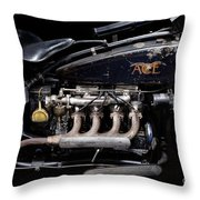 1924 Ace Throw Pillow