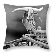 1930 Hispano-suiza H6c Kellner Transformable Hood Ornament Throw Pillow