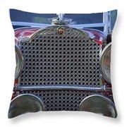1930 Packard Model 734 Speedster Runabout Throw Pillow