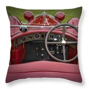 1931 Alfa Romeo Throw Pillow