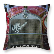 1931 Alpha Romeo Type 6c 1750 Gran Sport Throw Pillow