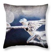 1932 Packard 12 Convertible Victoria Hood Ornament Throw Pillow