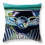 1933 Pontiac Emblem Throw Pillow