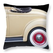 1936 Ford Cabriolet  Throw Pillow