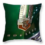 1941 Cadillac Series 62 Convertible Sedan Throw Pillow