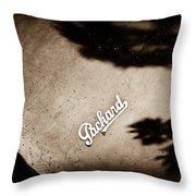 1947 Packard Emblem Throw Pillow