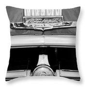1950 Pontiac Grille Emblem Throw Pillow