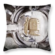 1951 Mercury Custom Emblem Throw Pillow