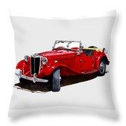 1953 M G T D  Throw Pillow