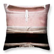1953 Nash-healey Roadster Grille Emblem Throw Pillow