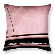1953 Studebaker Coupe Grille Emblem Throw Pillow