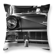 1956 Chevy Bel Air Throw Pillow