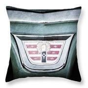 1956 Dodge Emblem Throw Pillow