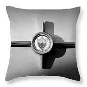 1958 Oldsmobile 98 Emblem Throw Pillow