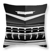 1959 Cadillac Eldorado Grille Emblem Throw Pillow