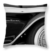 1959 Desoto Adventurer Convertible Wheel Throw Pillow