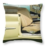 1960 Chrysler 300-f Muscle Car Throw Pillow