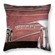 1960 Edsel Taillight Throw Pillow