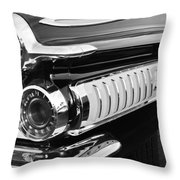 1962 Dodge Polara 500 Taillights Throw Pillow