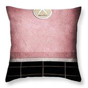 1963 Apollo Gran Tourismo Hood Emblem Throw Pillow