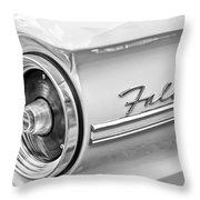 1963 Ford Falcon Futura Convertible Taillight Emblem Throw Pillow