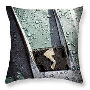 1963 Studebaker Avanti Hood Ornament Throw Pillow